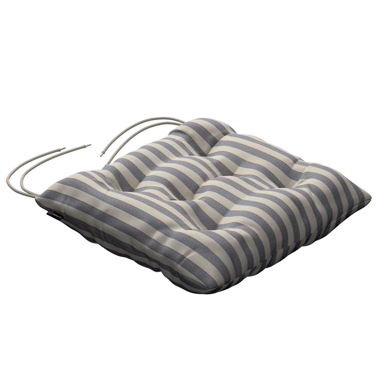 Siedzisko Jacek na krzesło 38x38x8cm w kolekcji Quadro, tkanina: 136-02