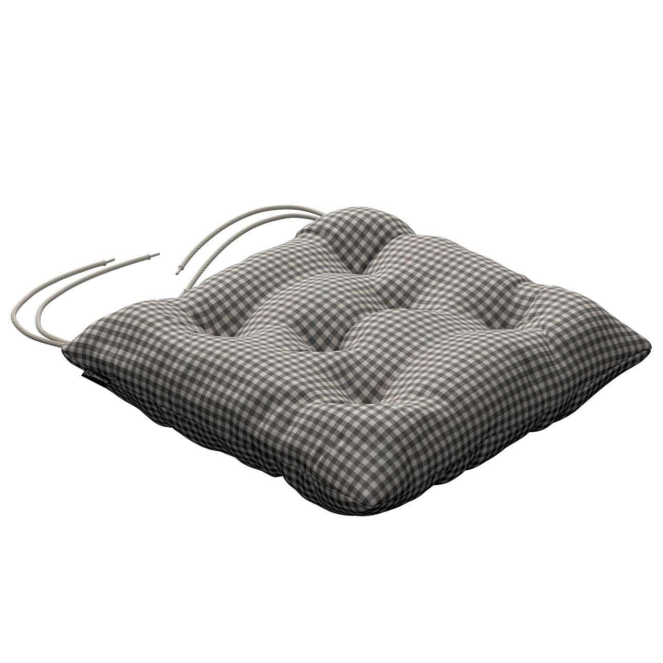 Siedzisko Jacek na krzesło 38x38x8cm w kolekcji Quadro, tkanina: 136-10
