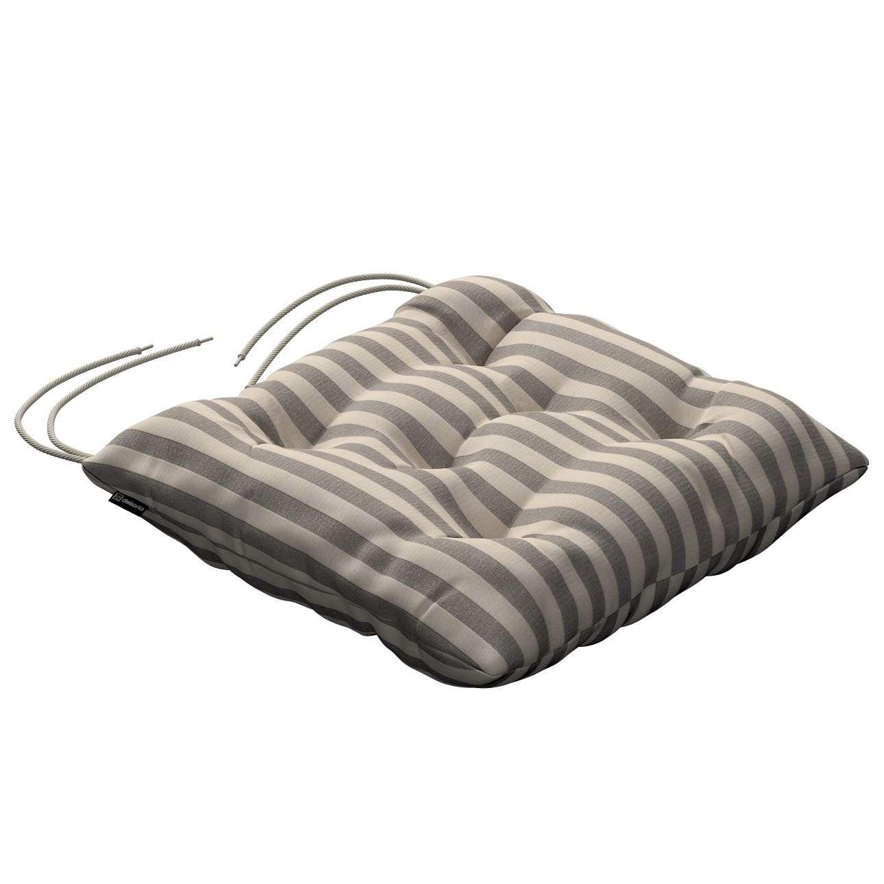 Siedzisko Jacek na krzesło 38x38x8cm w kolekcji Quadro, tkanina: 136-12