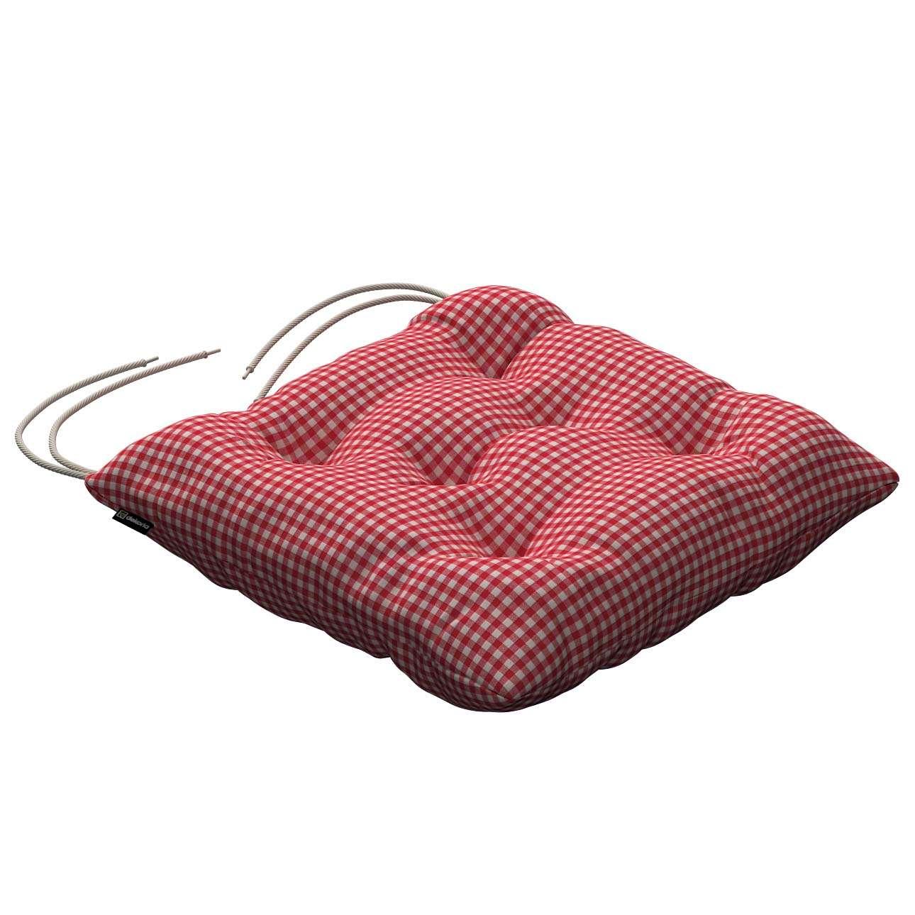 Siedzisko Jacek na krzesło 38x38x8cm w kolekcji Quadro, tkanina: 136-15