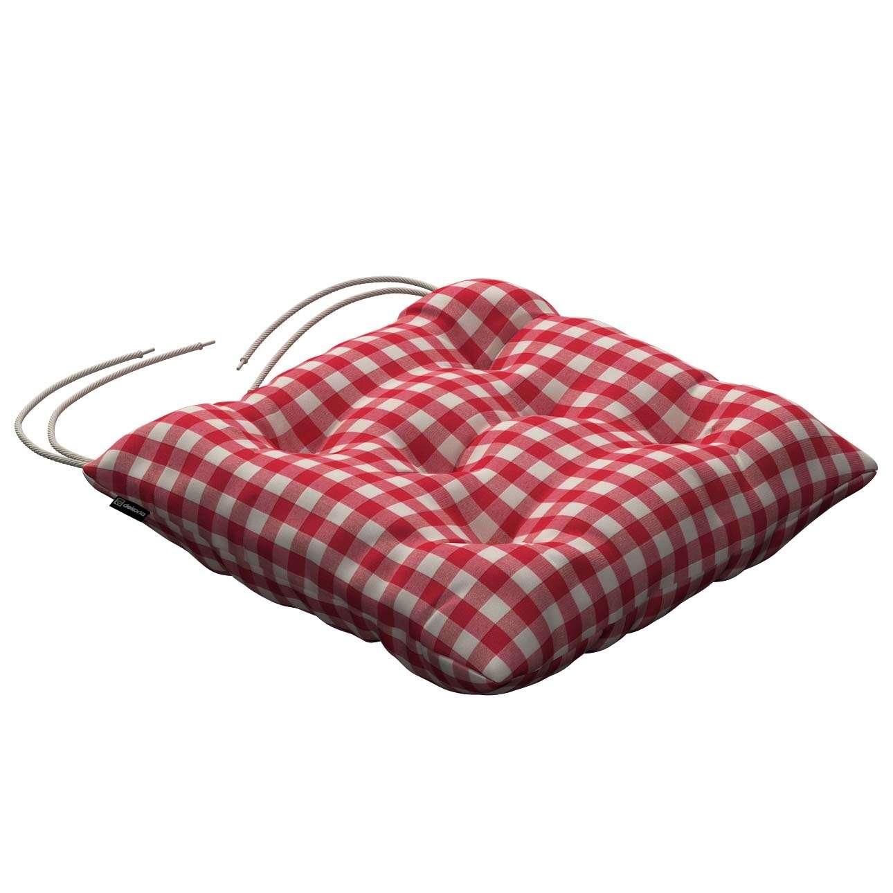 Siedzisko Jacek na krzesło 38x38x8cm w kolekcji Quadro, tkanina: 136-16