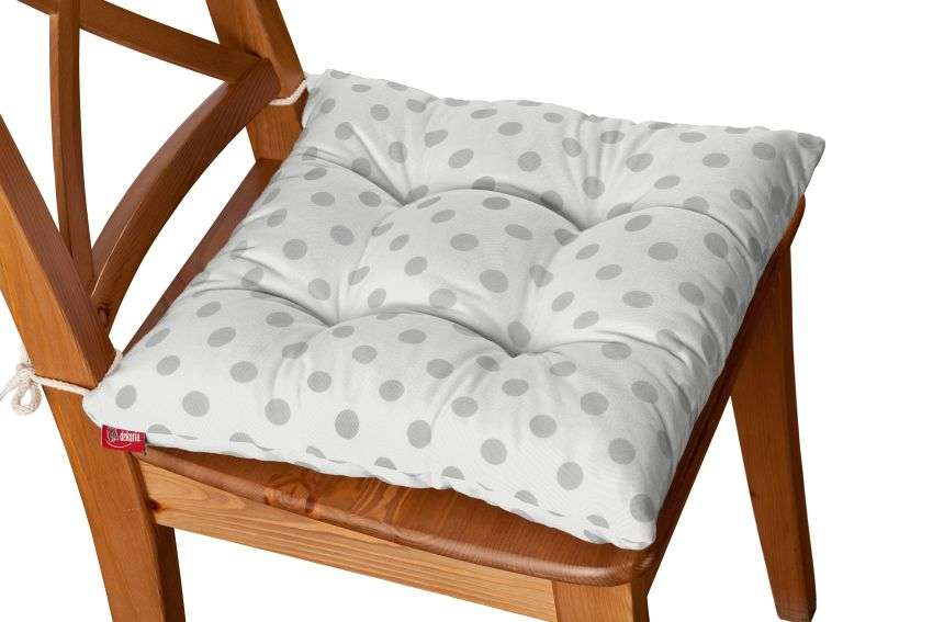 Jack seat pad with ties in collection Ashley, fabric: 137-68