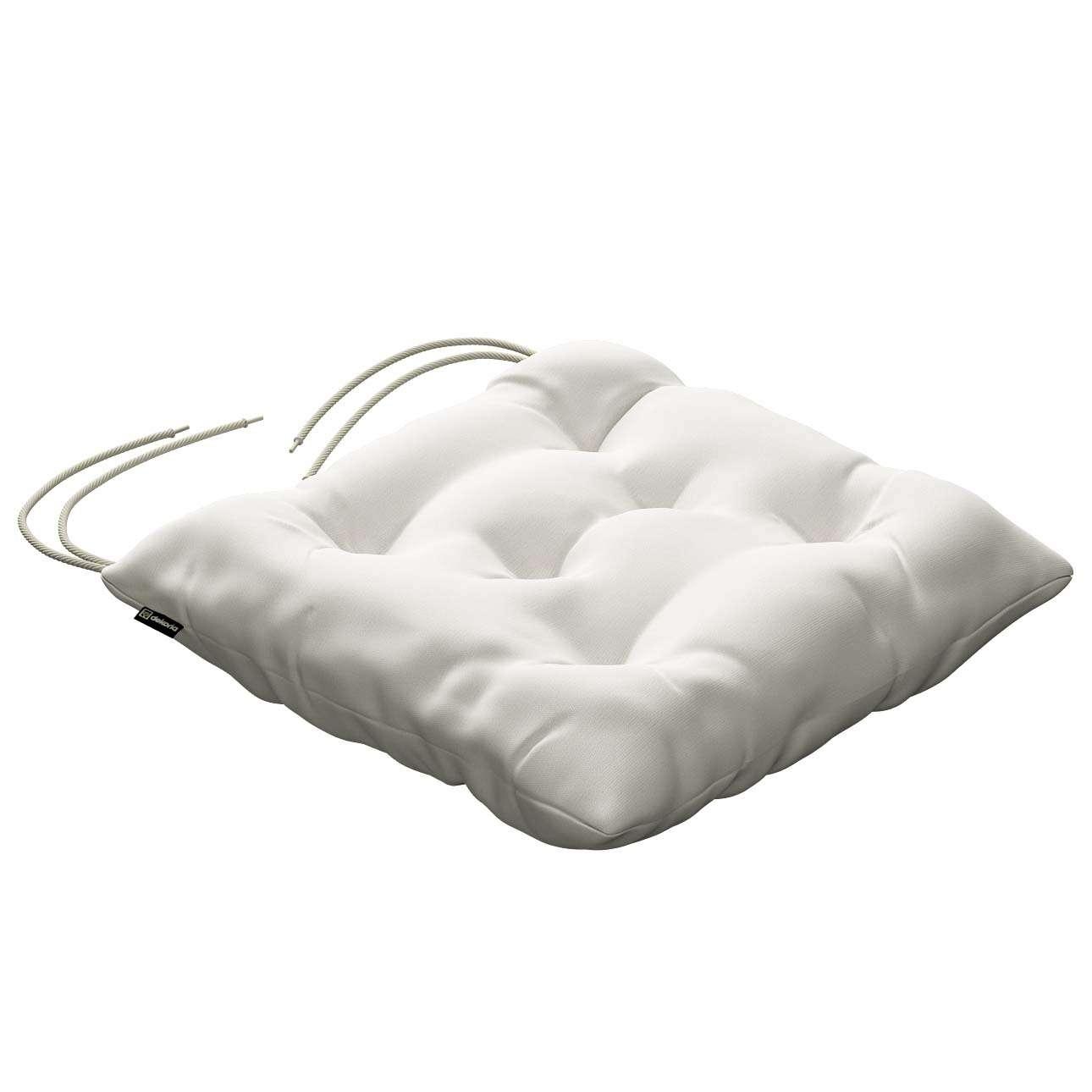 Siedzisko Jacek na krzesło 40x40x8cm w kolekcji Cotton Panama, tkanina: 702-34