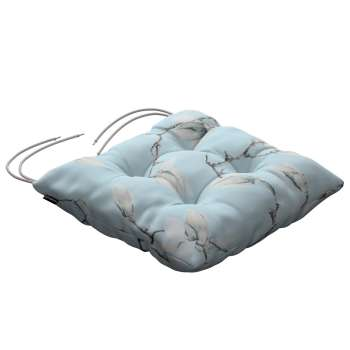 Jack seat pad with ties in collection Flowers, fabric: 311-14