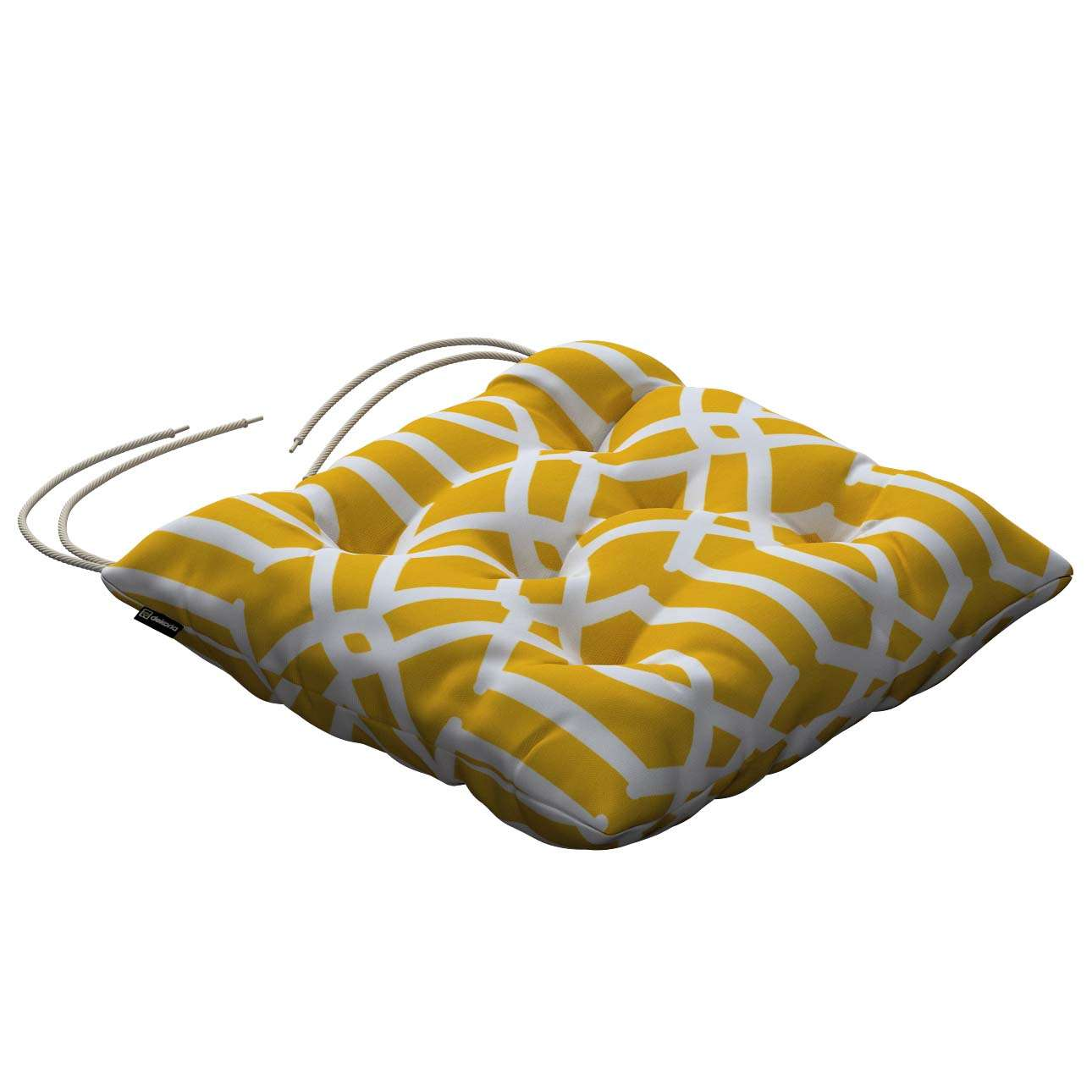 Jack seat pad with ties in collection Comics/Geometrical, fabric: 135-09
