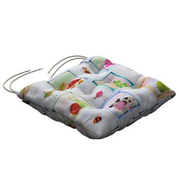 Jack seat pad with ties in collection Apanona, fabric: 151-04