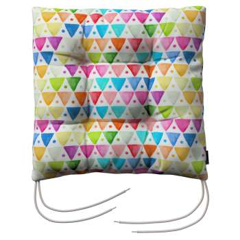 Jack seat pad with ties in collection New Art, fabric: 140-27