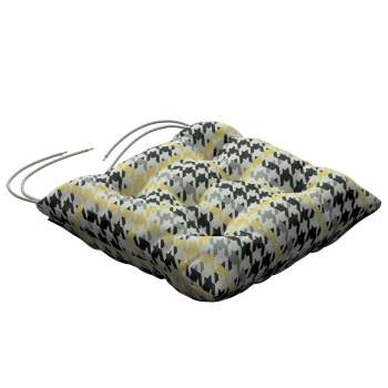 Jacek seat pad with ties 40 x 40 x 8 cm (16 x 16 x 3 inch) in collection Brooklyn, fabric: 137-79