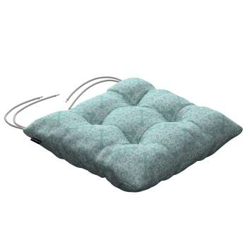 Jack seat pad with ties 40 × 40 × 8 cm (16 × 16 × 3 inch) in collection Flowers, fabric: 140-37