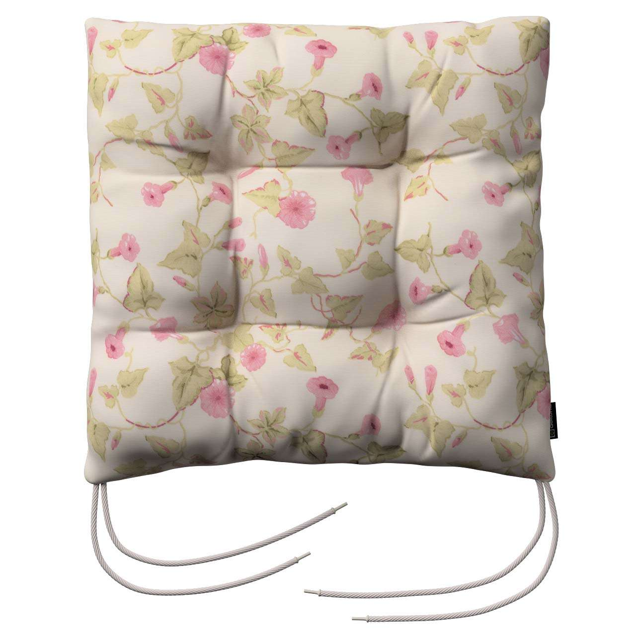 Jack seat pad with ties in collection Mirella, fabric: 140-41