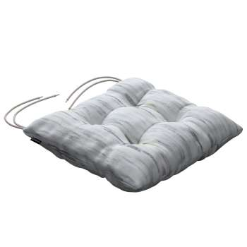 Jacek seat pad with ties 40 × 40 × 8 cm (16 × 16 × 3 inch) in collection Aquarelle, fabric: 140-66