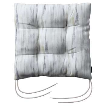 Jack seat pad with ties in collection Aquarelle, fabric: 140-66