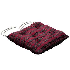 Siedzisko Jacek na krzesło 38x38x8cm w kolekcji Bristol, tkanina: 126-29