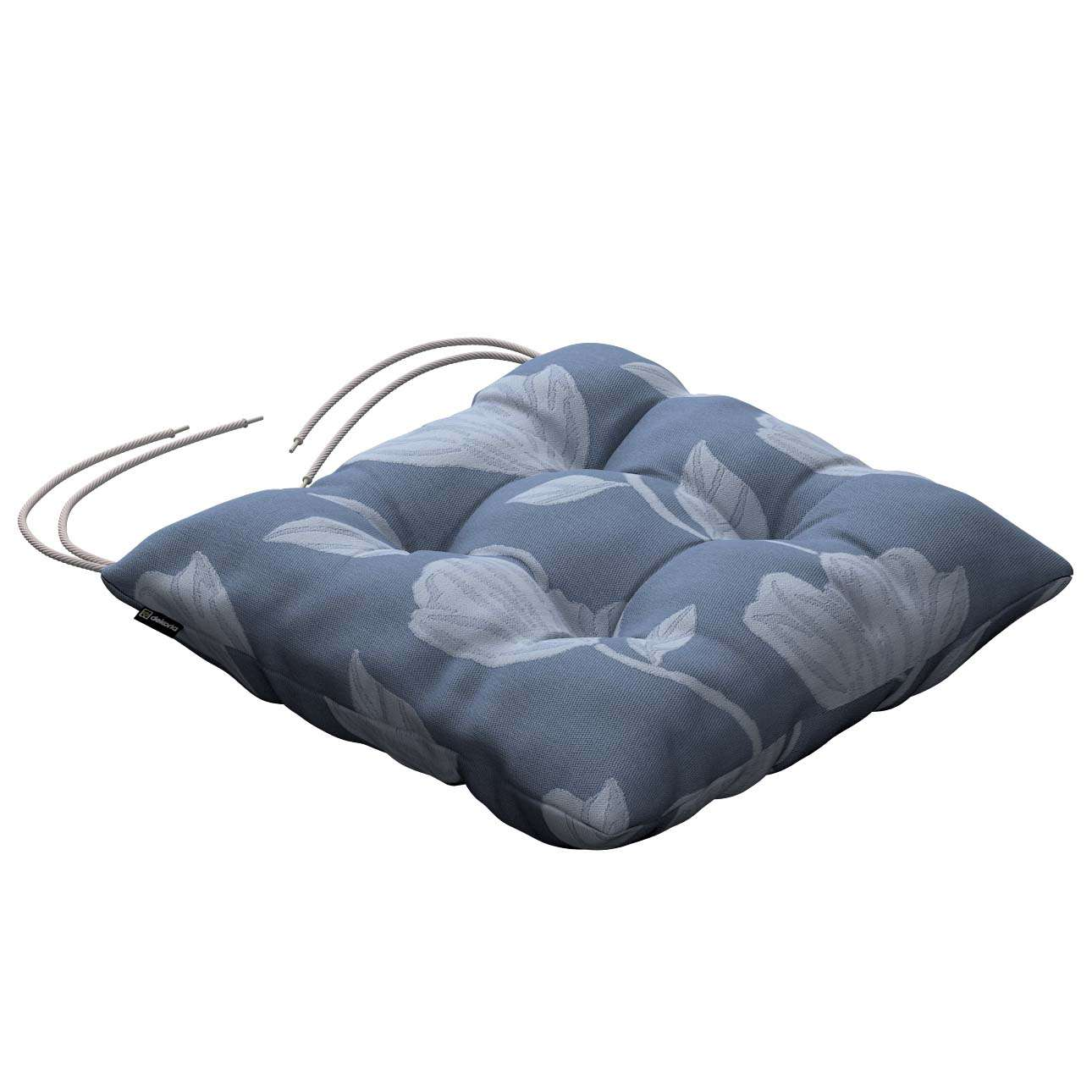 Jack seat pad with ties in collection Venice, fabric: 140-61
