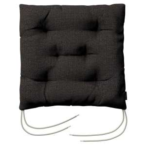 Jacek seat pad with ties 40 x 40 x 8 cm (16 x 16 x 3 inch) in collection Vintage, fabric: 702-36