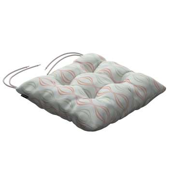 Jack seat pad with ties in collection Geometric, fabric: 141-49