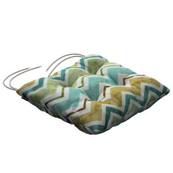 Jack seat pad with ties in collection Acapulco, fabric: 141-41