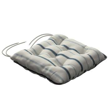 Jacek seat pad with ties 40 x 40 x 8 cm (16 x 16 x 3 inch) in collection Avinon, fabric: 129-66