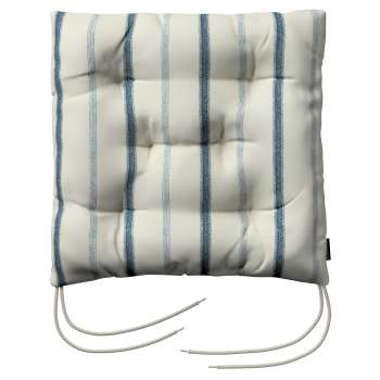 Jack seat pad with ties in collection Avinon, fabric: 129-66