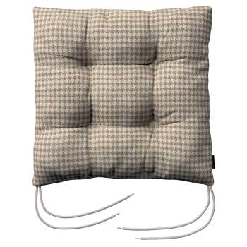 Jack seat pad with ties in collection Edinburgh, fabric: 703-12