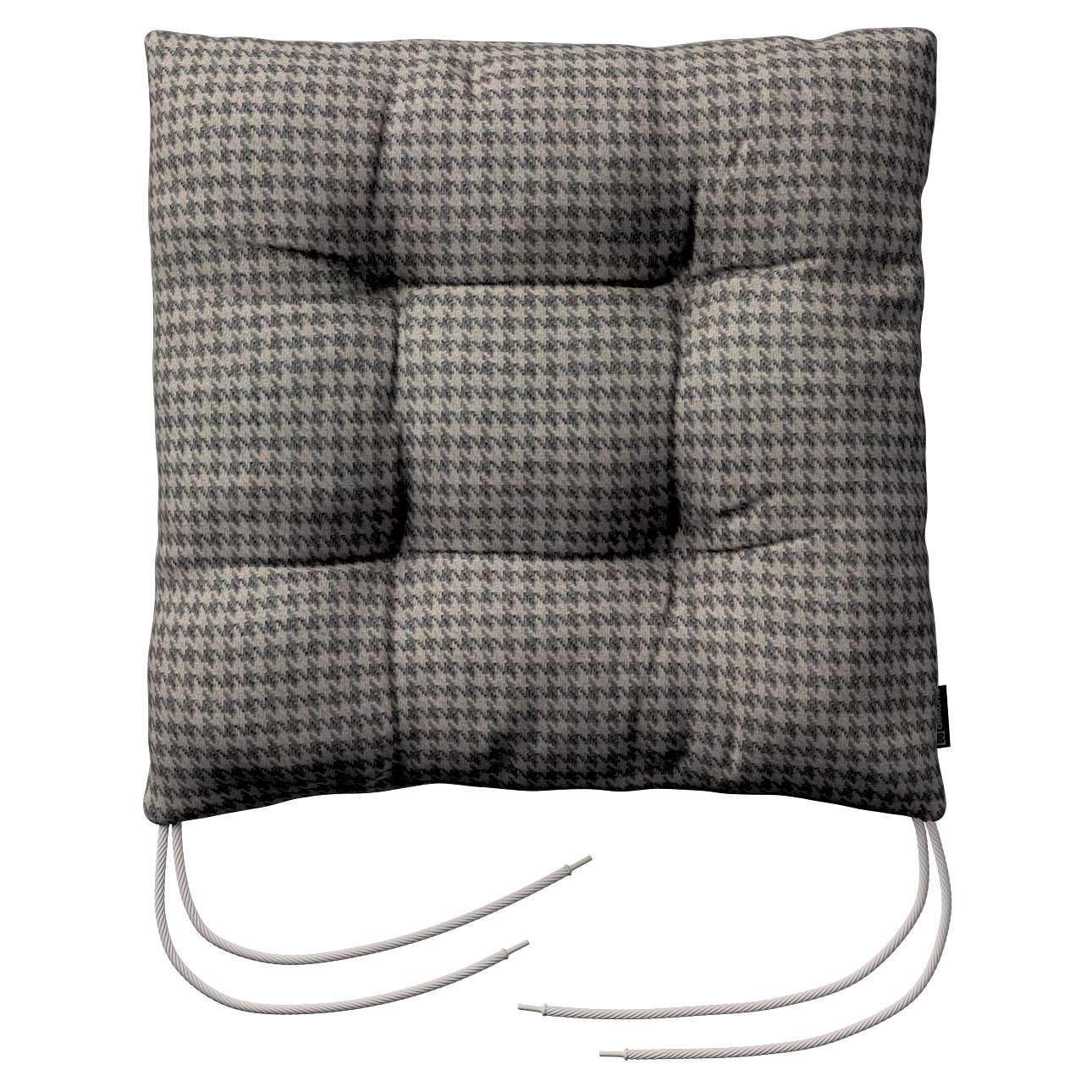 Jack seat pad with ties in collection Edinburgh, fabric: 703-14