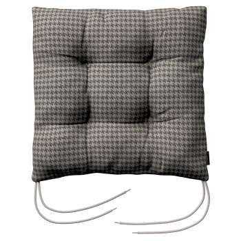 Jacek seat pad with ties 40 x 40 x 8 cm (16 x 16 x 3 inch) in collection Edinburgh, fabric: 703-14