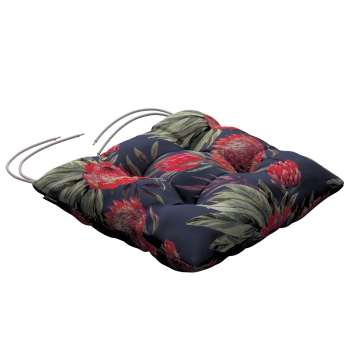 Jack seat pad with ties 40 × 40 × 8 cm (16 × 16 × 3 inch) in collection New Art, fabric: 141-57