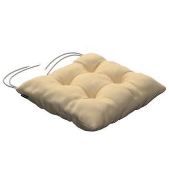 Jacek seat pad with ties 40 x 40 x 8 cm (16 x 16 x 3 inch) in collection Madrid, fabric: 160-49