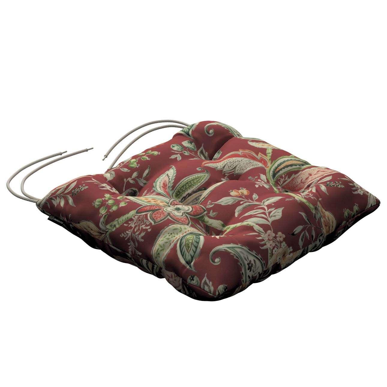 Siedzisko Jacek na krzesło w kolekcji Gardenia, tkanina: 142-12