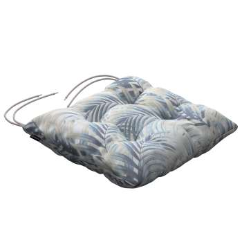 Jack seat pad with ties in collection Gardenia, fabric: 142-16