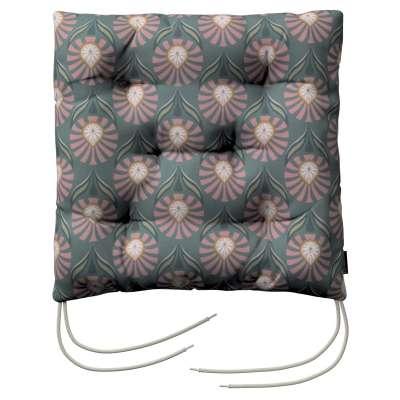 Siedzisko Jacek na krzesło w kolekcji Gardenia, tkanina: 142-17