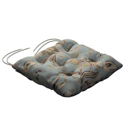 Jack seat pad with ties in collection Gardenia, fabric: 142-18