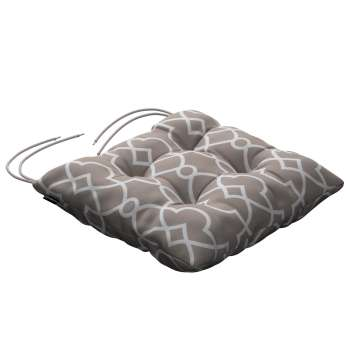 Jack seat pad with ties in collection Gardenia, fabric: 142-20