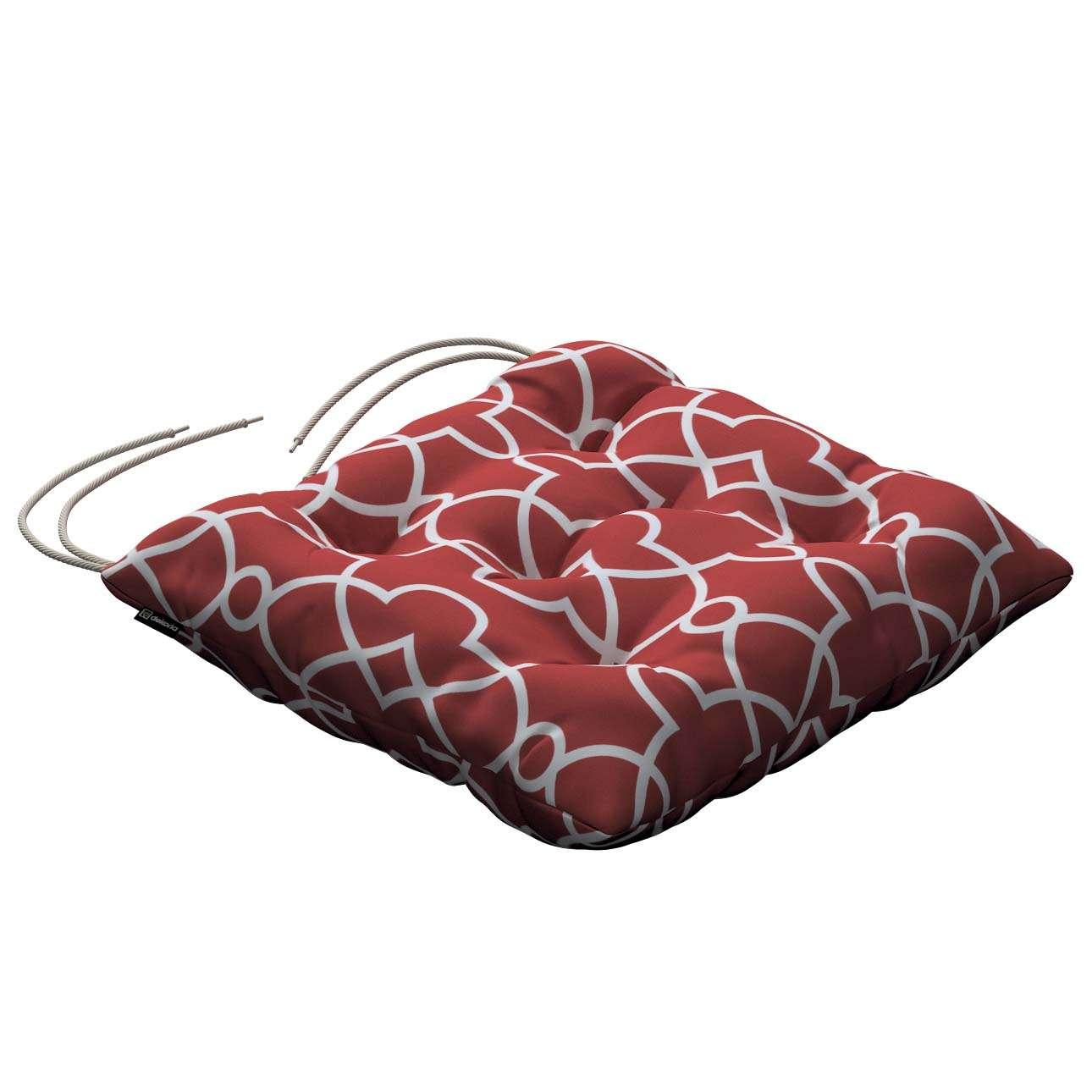 Siedzisko Jacek na krzesło w kolekcji Gardenia, tkanina: 142-21