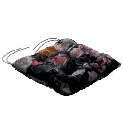 Jakub s viazaním 161-02 farebné kvety na tmavom pozadí Kolekcia Gardenia