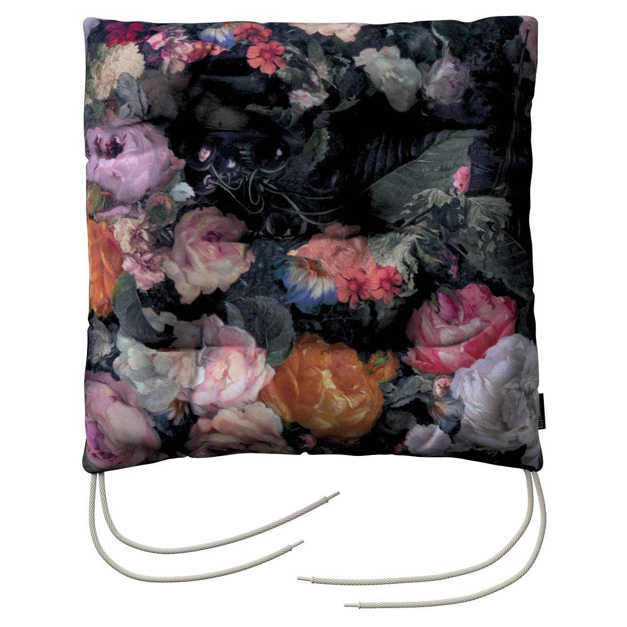 Sedák Honza 40x40x8cm v kolekci Gardenia, látka: 161-02