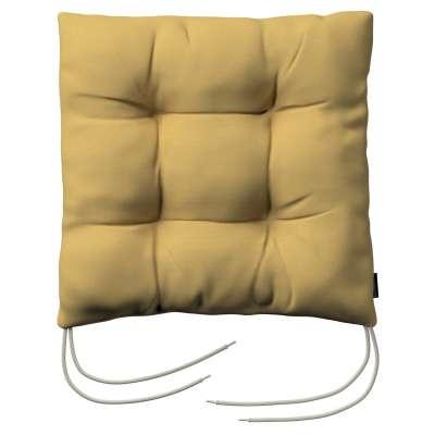 Siedzisko Jacek na krzesło 702-41 zgaszony żółty Kolekcja Cotton Panama