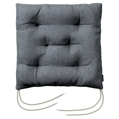 Jack seat pad with ties 704-86 graphite - gray Collection City