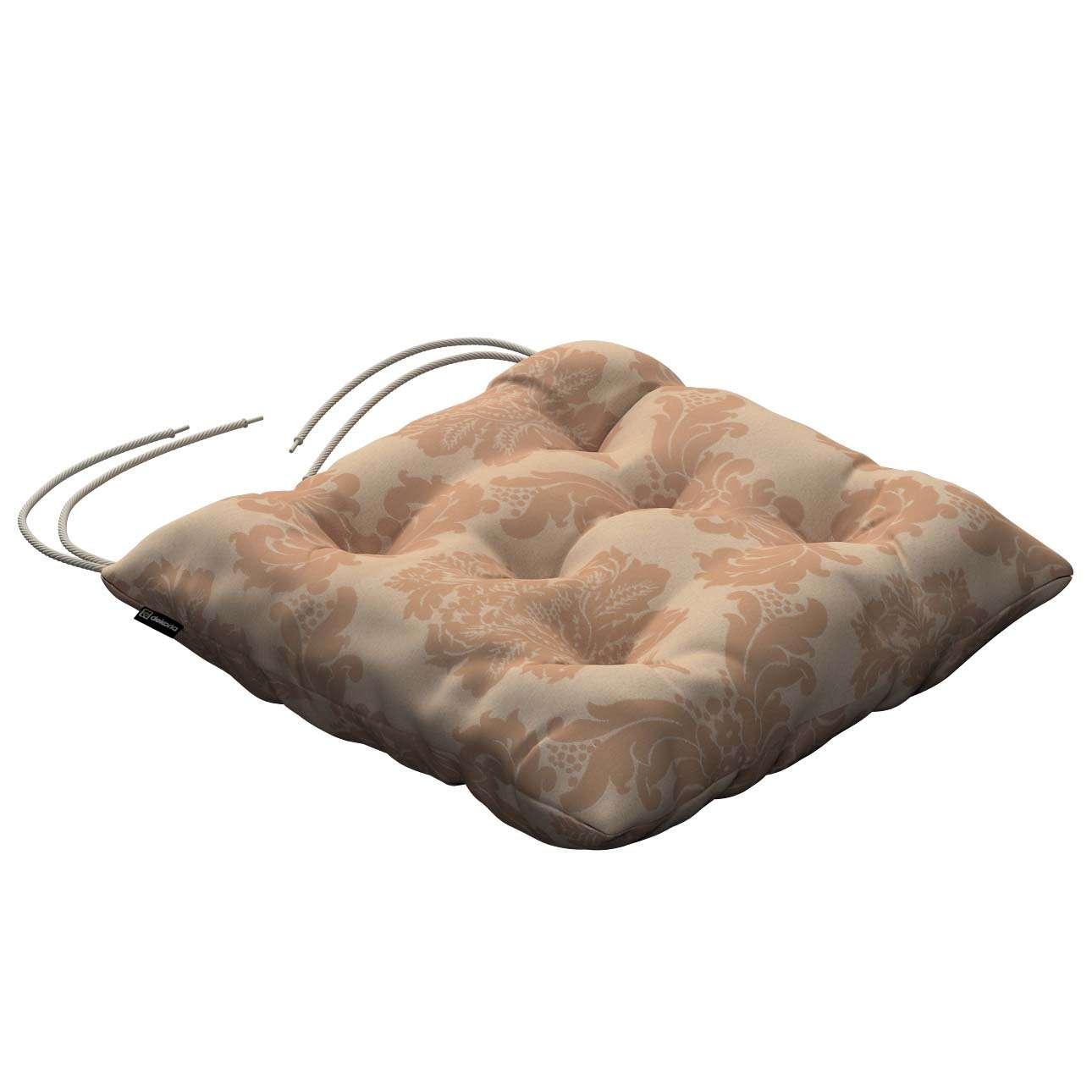 Kėdės pagalvėlė Jacek  40 x 40 x 8 cm kolekcijoje Damasco, audinys: 613-04