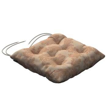 Siedzisko Jacek na krzesło 38x38x8cm w kolekcji Damasco, tkanina: 613-04