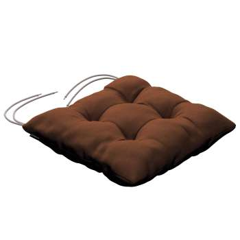 Jacek seat pad with ties 40 x 40 x 8 cm (16 x 16 x 3 inch) in collection Jupiter, fabric: 127-88