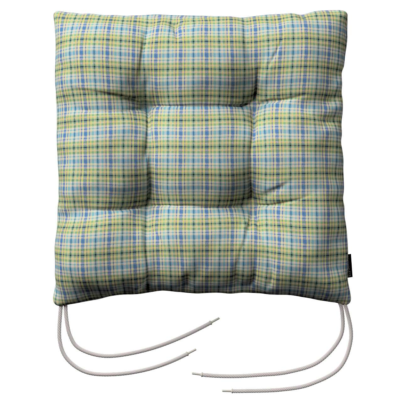 Jack seat pad with ties in collection Bristol, fabric: 126-69