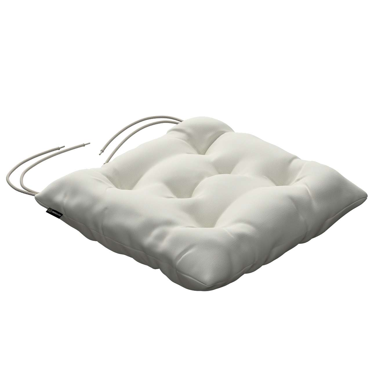 Jacek seat pad with ties 40 x 40 x 8 cm (16 x 16 x 3 inch) in collection Jupiter, fabric: 127-00