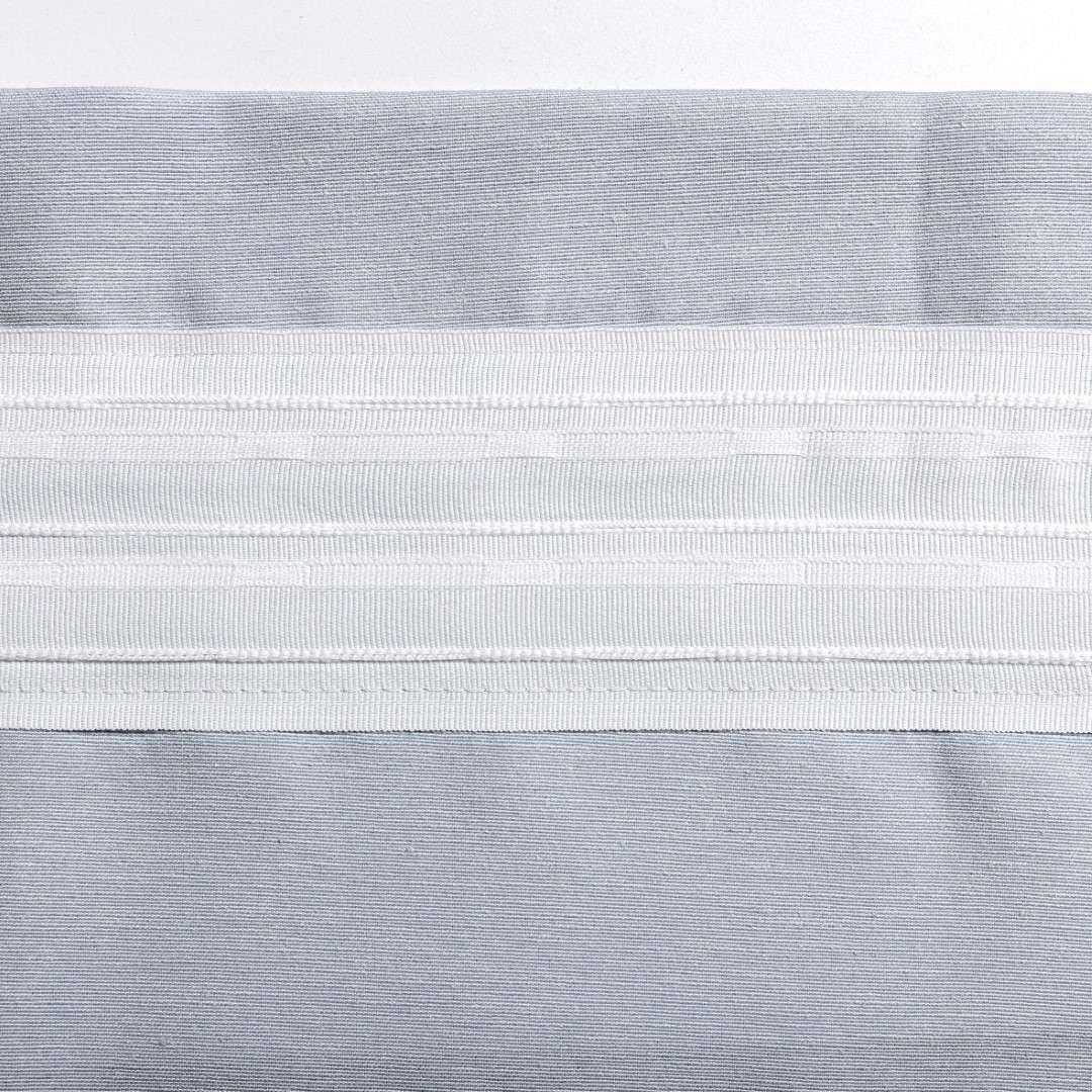 Gardin med kanal och rynkband för fingerkrokar - 1 längd i kollektionen Edinburgh, Tyg: 115-74