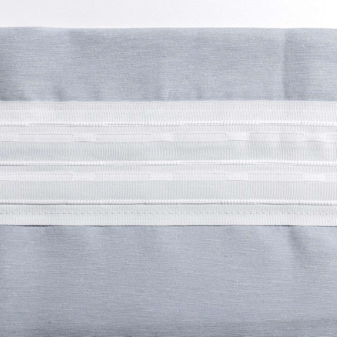 Zasłona na kanale z grzywką 1 szt. w kolekcji Pastel Forest, tkanina: 142-49