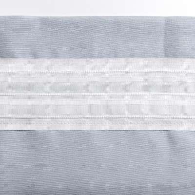 Vorhang mit Tunnel und Köpfchen von der Kollektion Cotton Panama, Stoff: 702-08