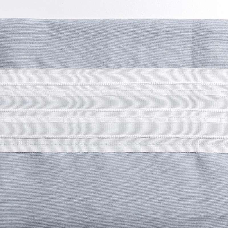Zasłona na kanale z grzywką 1 szt. w kolekcji Quadro, tkanina: 136-16