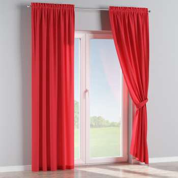 Slot and frill curtains 130 x 260 cm (51 x 102 inch) in collection Jupiter, fabric: 127-14