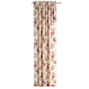 Zasłona na kanale z grzywką 1 szt. 1szt 130x260 cm w kolekcji Mirella, tkanina: 141-06