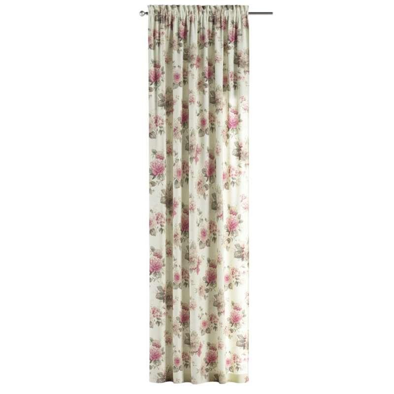 Záves s navliekacou riasiacou páskou V kolekcii Londres, tkanina: 141-07